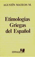 etimologias griegas del español agustin mateos pdf